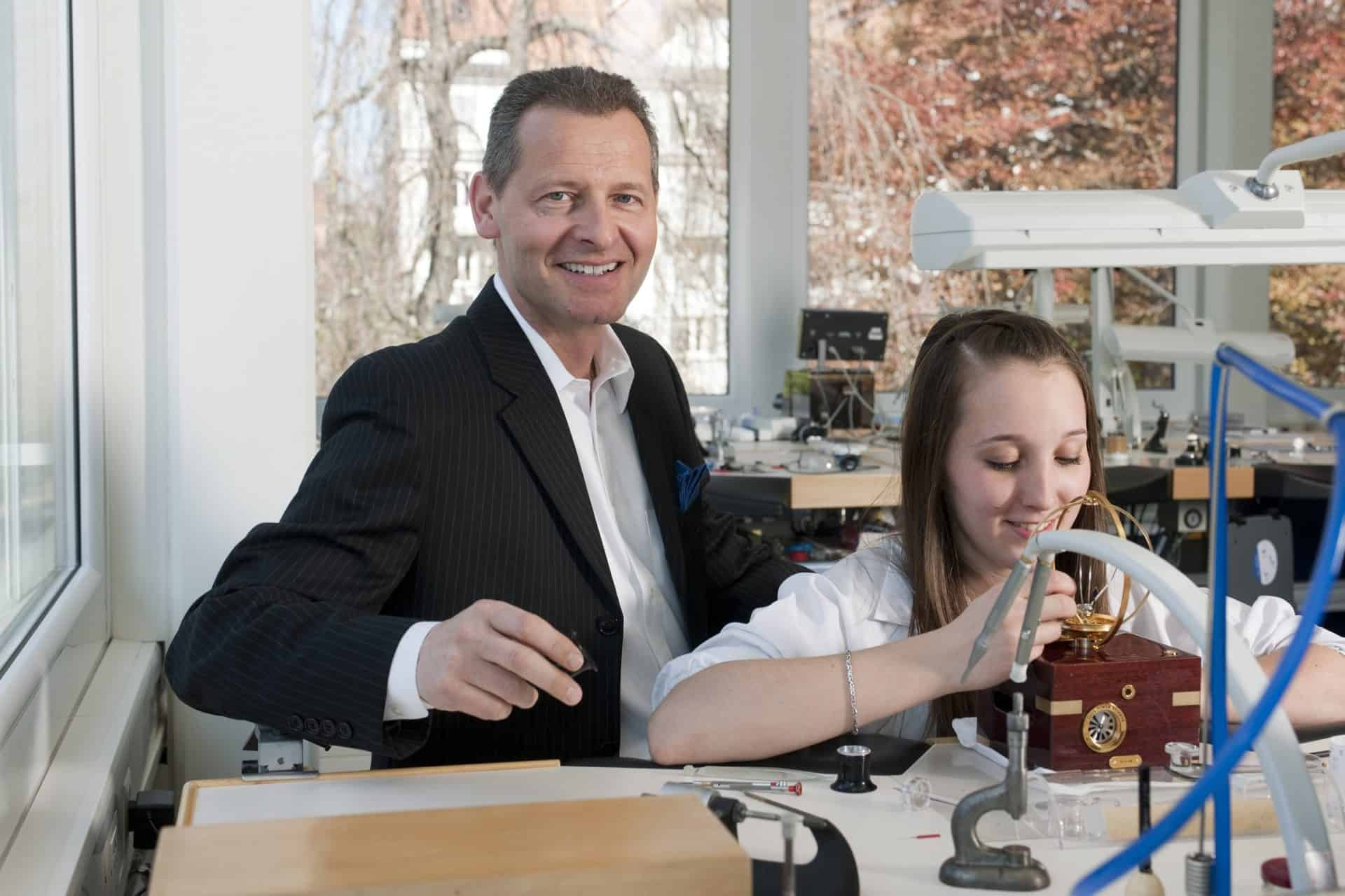 Ulysse Nardin CEO Patrik P. Hoffmann setzt auf Wachstum, aber der Markenkern muss erkennbar bleiben