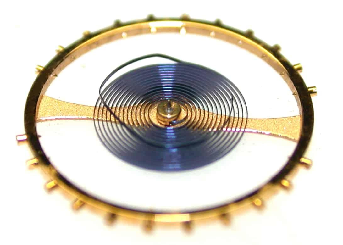 Die Unruhe mit Breguet-Spirale