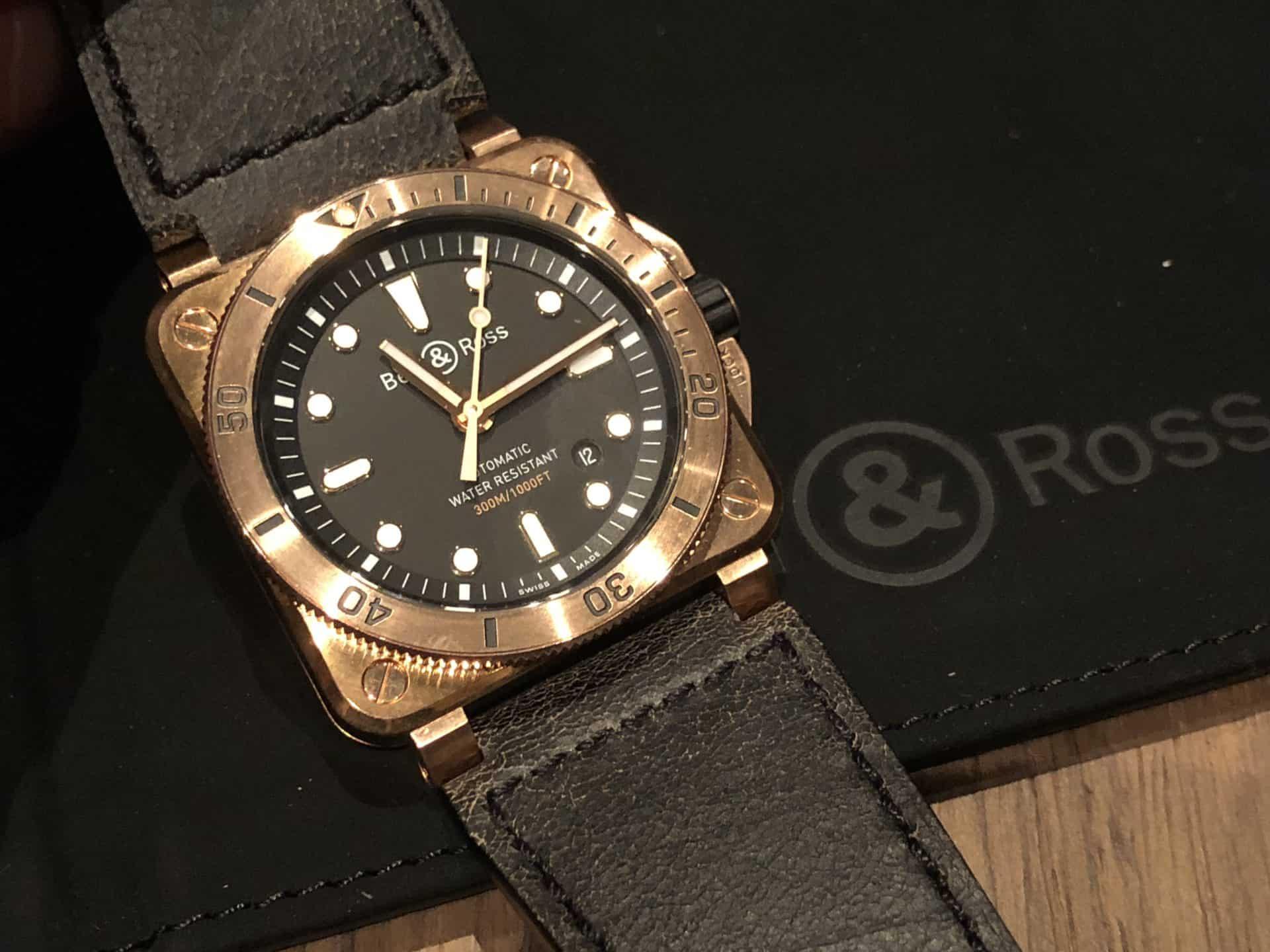 Von der Bell&Ross 03-92 Diver Bronze gibt es nur 999 Stück.