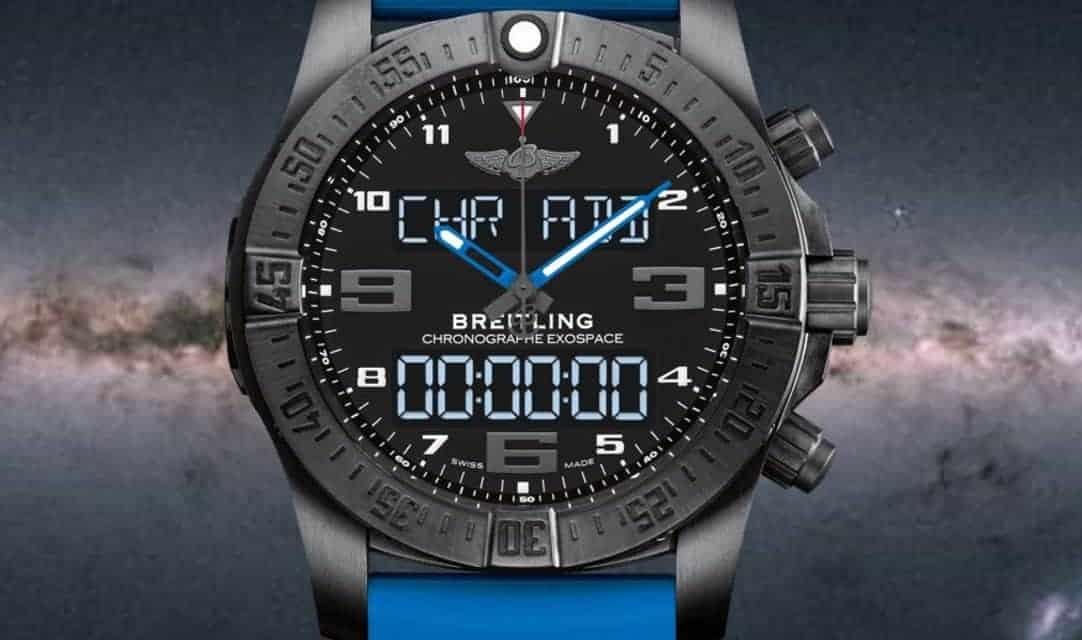 """""""Unsere Breitling B 55 Exospace ist keine Smartwatch!"""""""
