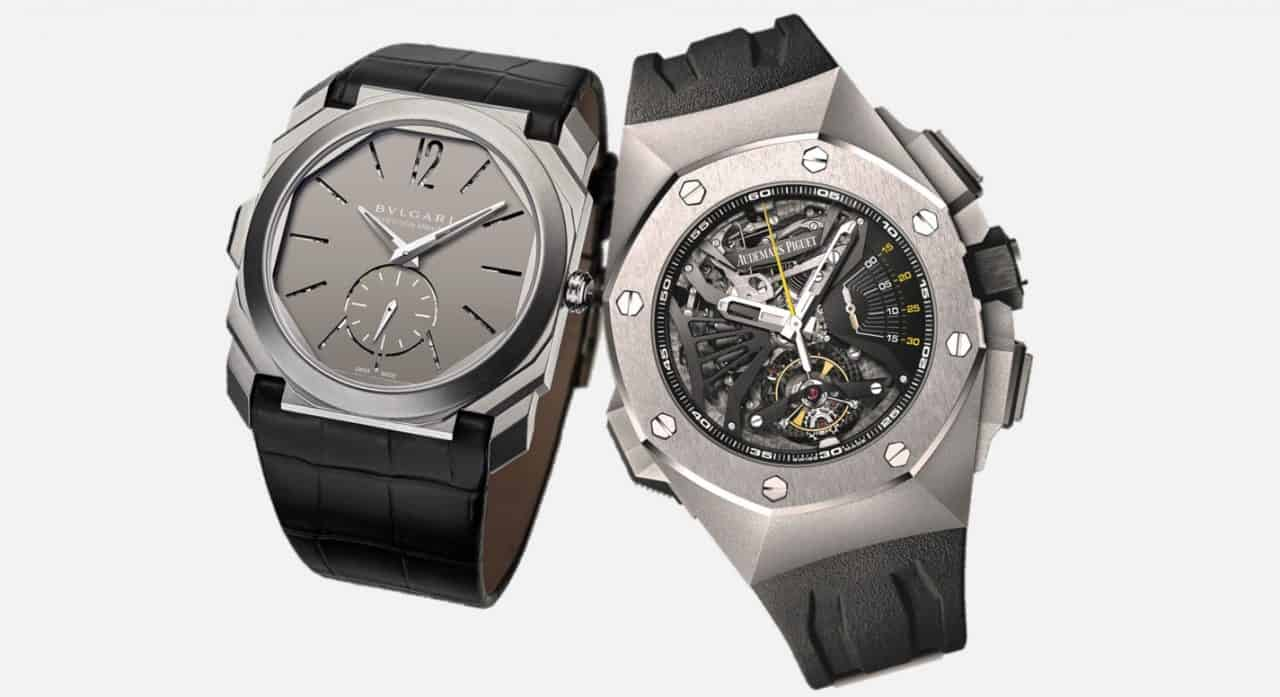 Bulgari Octo Finissimo Répétition Minutes und Audemars Royal Oak Concept Supersonnerie