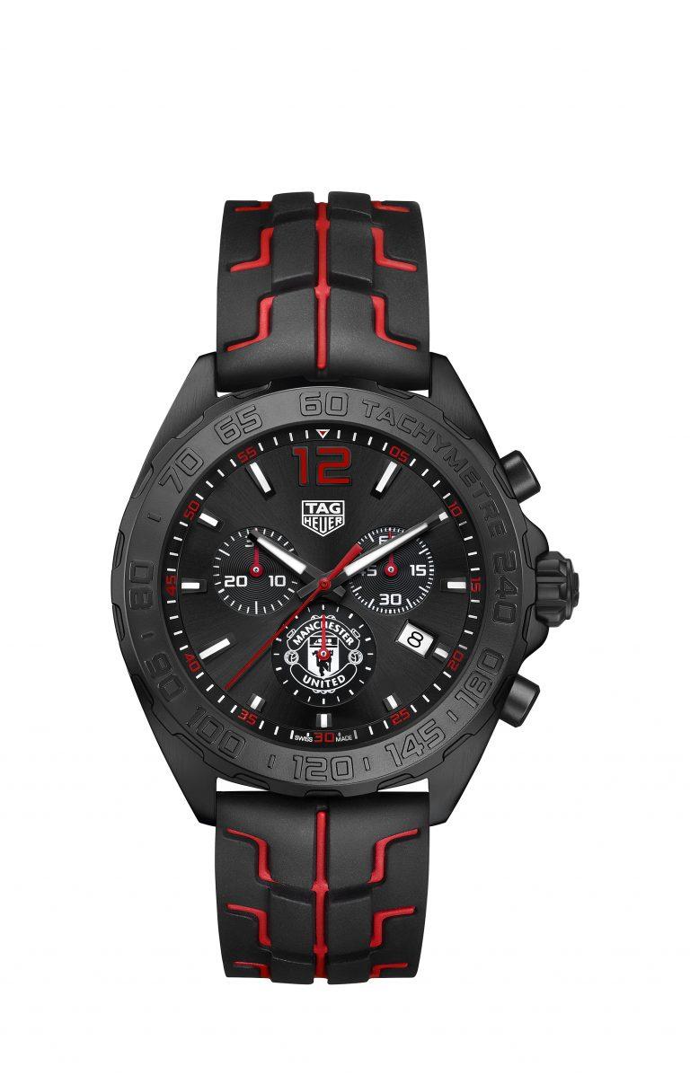 Evil oder Devil - je nach Fankurve. Der TAG Heuer Manchester United Chronometer