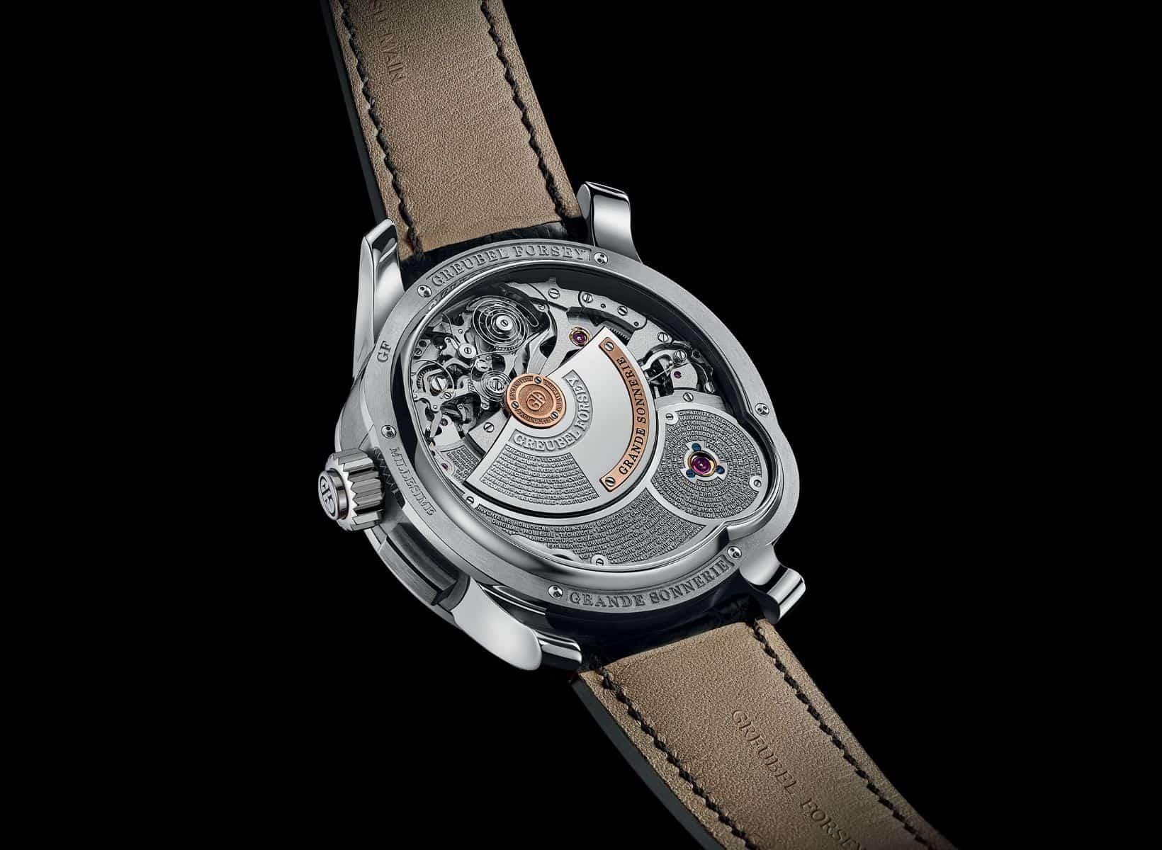 Diese Uhr trifft den richtigen Ton - in Sachen Technik, aber auch im wahrsten Sinne des Wortes: Greubel Forsey Grand Sonnerie
