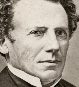 Heinrich Moser war der Gründer der Uhrenmarke Moser&Cie. in Schaffhausen
