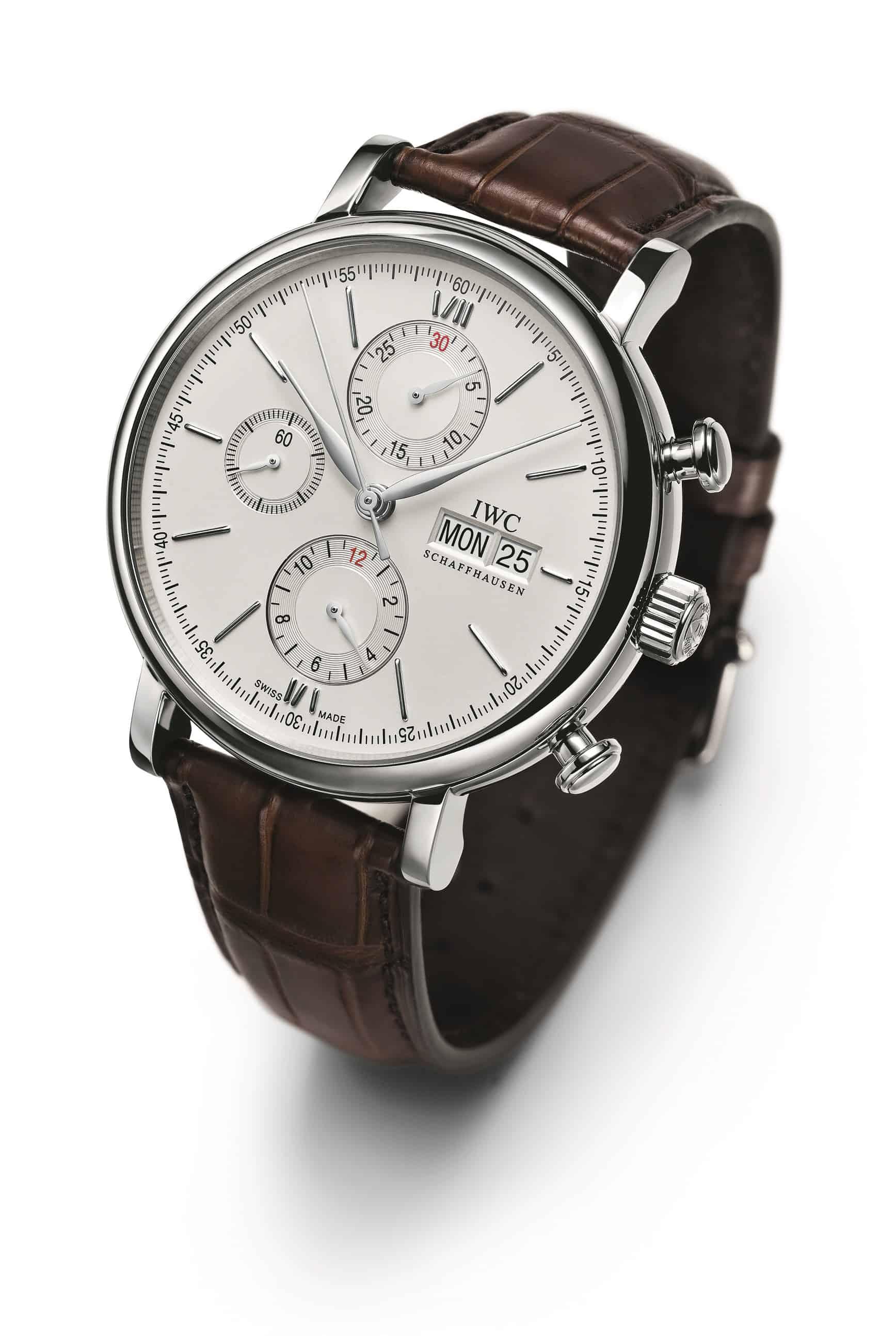 Über alle Steigerungen der Effizienz sollte man nicht vergessen, dass IWC das Wichtigste nicht vergisst: Schöne, technisch hervorragende Uhren zu bauen, wie dieser IWC Portofino Chronograph eindrucksvoll beweist