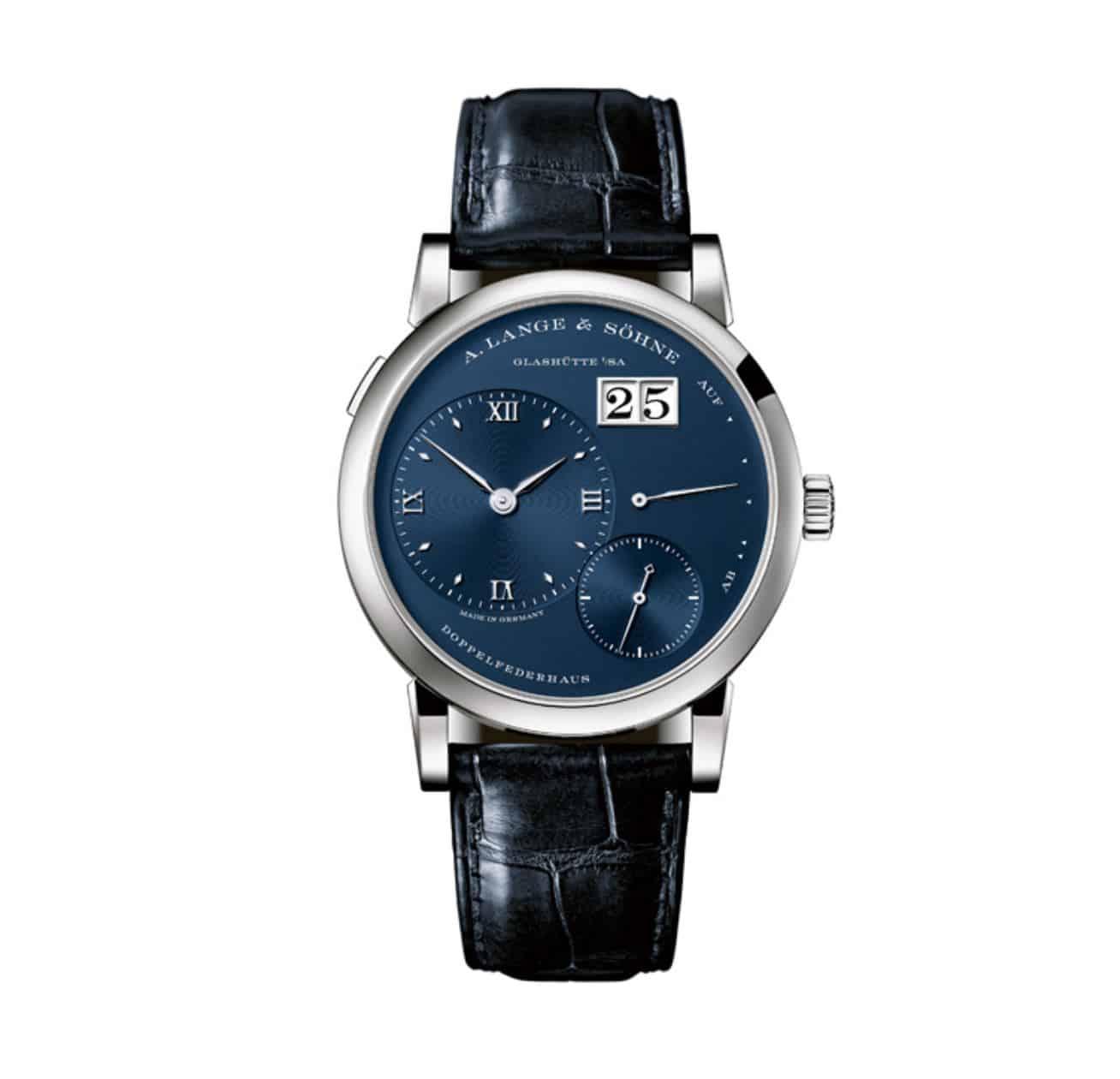 Eine nachtblaue Schönheit mit feiner Technik - die Lange&Söhne Lange 1