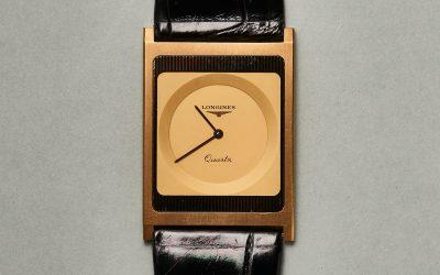 Die einst flachste Armbanduhr der WeltLongines Feuille d'Or: Eine Quarzuhr fein wie Blattgold
