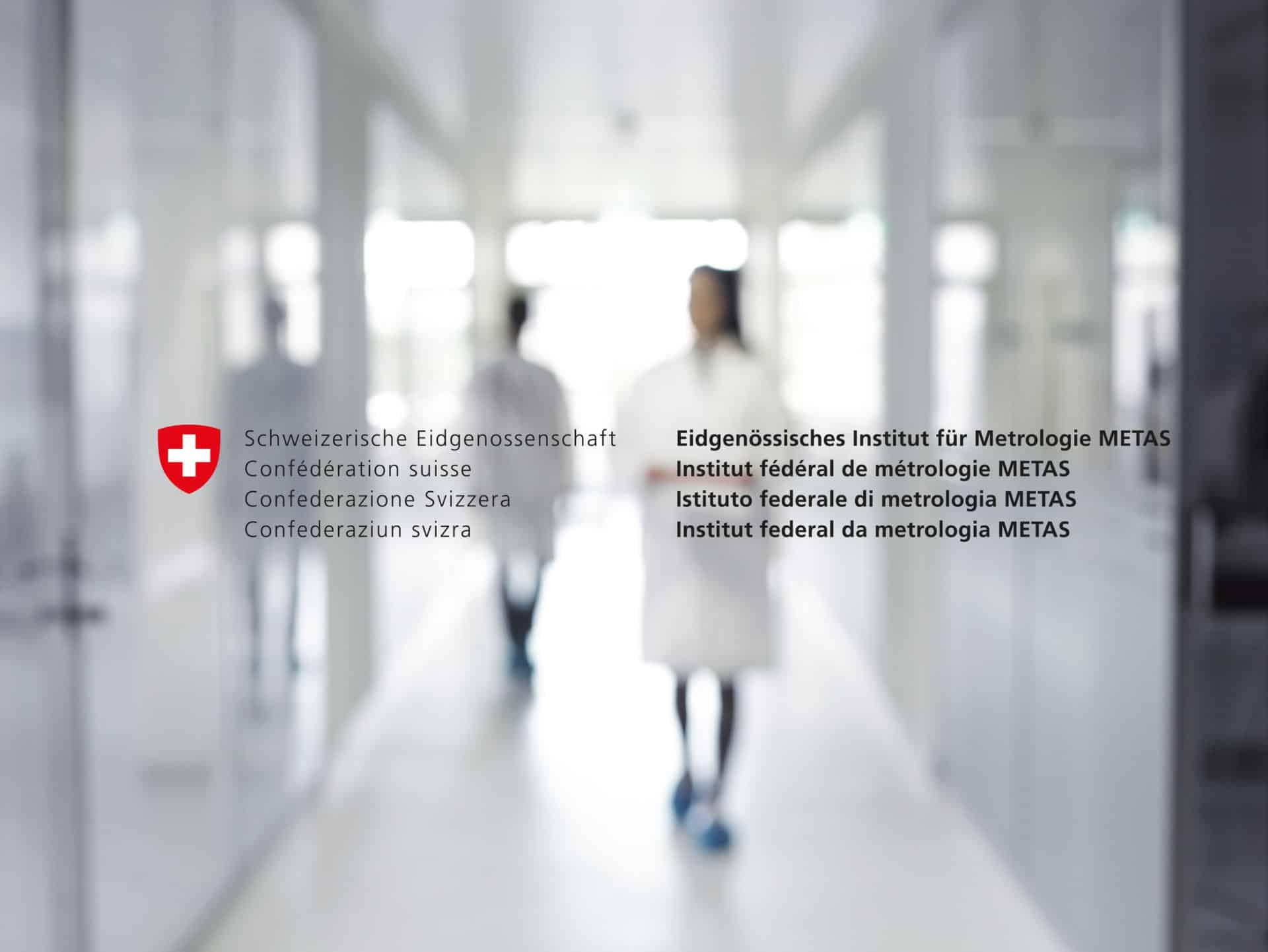In klinischer Atmosphäre werden die Werke bei METAS auf Herz und Nieren geprüft
