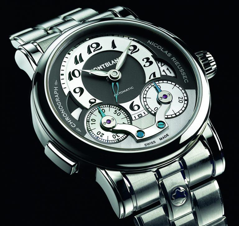 Der Montblanc Rieussec Scheibenchronograph aus dem Jahr 2008