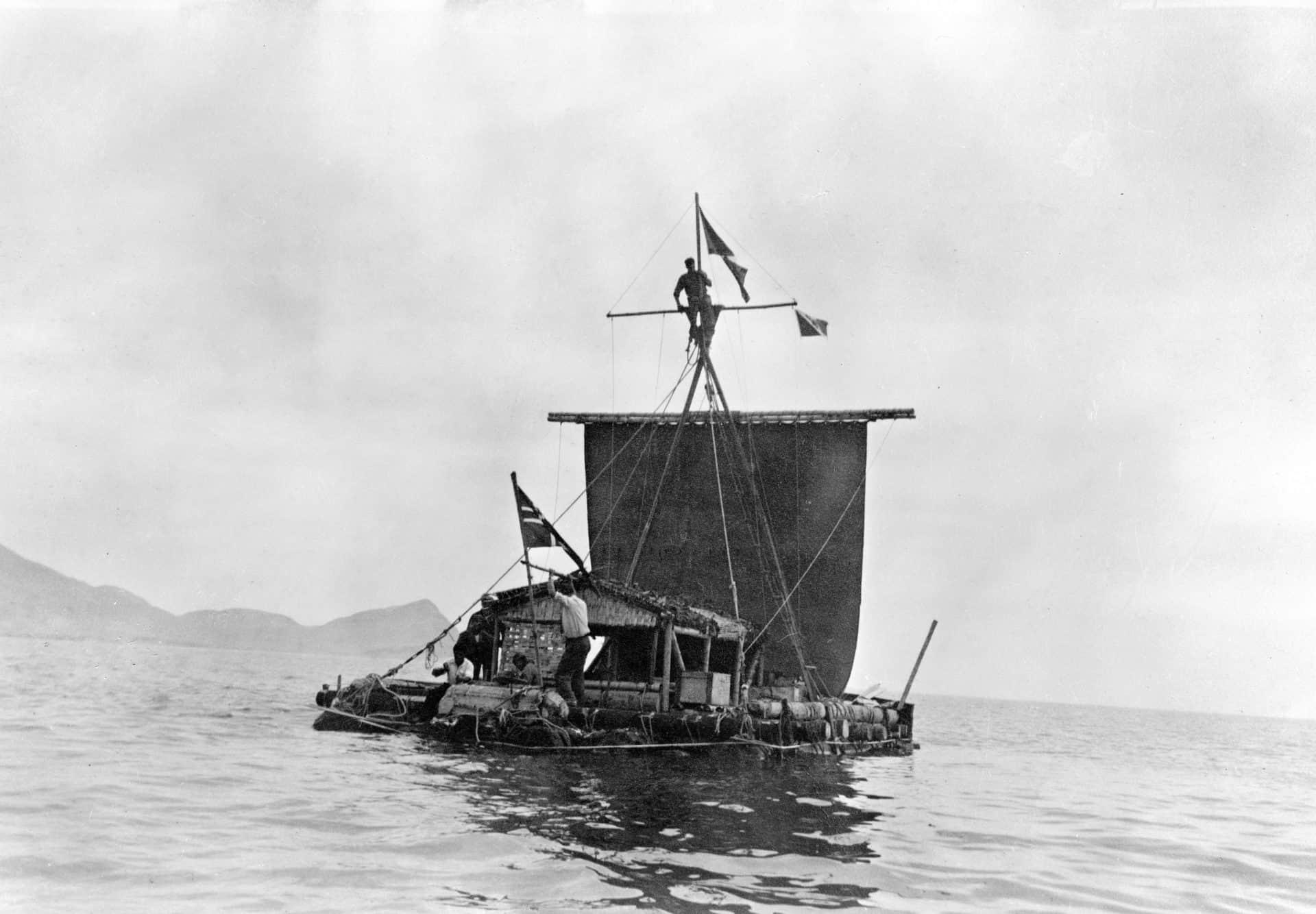Das KonTiki Floß von Thor Heyerdahl
