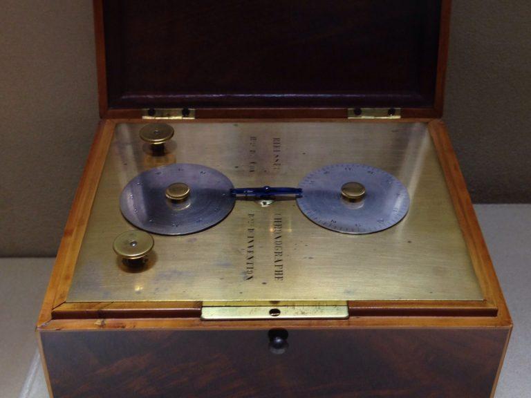 Der patentierte Rieussec Scheibenchronograph - und in seiner Folge Namensgeber des Begriffs Chronograph