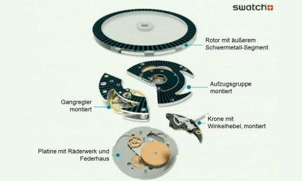 Swatch Sistem51 – Ein Uhrwerk mit System