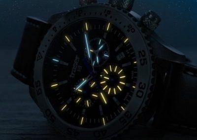 Swiss H3 Watches Traser Nachtansicht