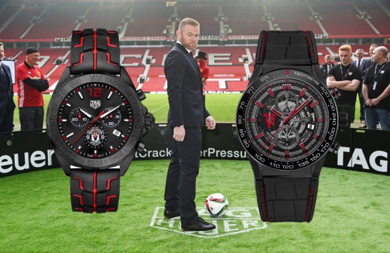 Der Willen zum Erfolg eint - die Modelle von TAG Heuer für Manchester United