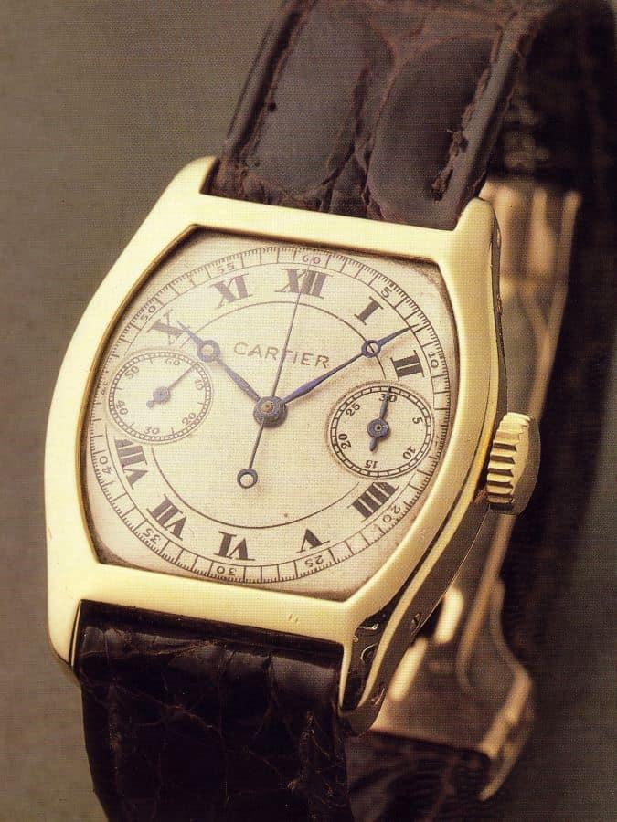 Cartier Tortue Chrono von 1928