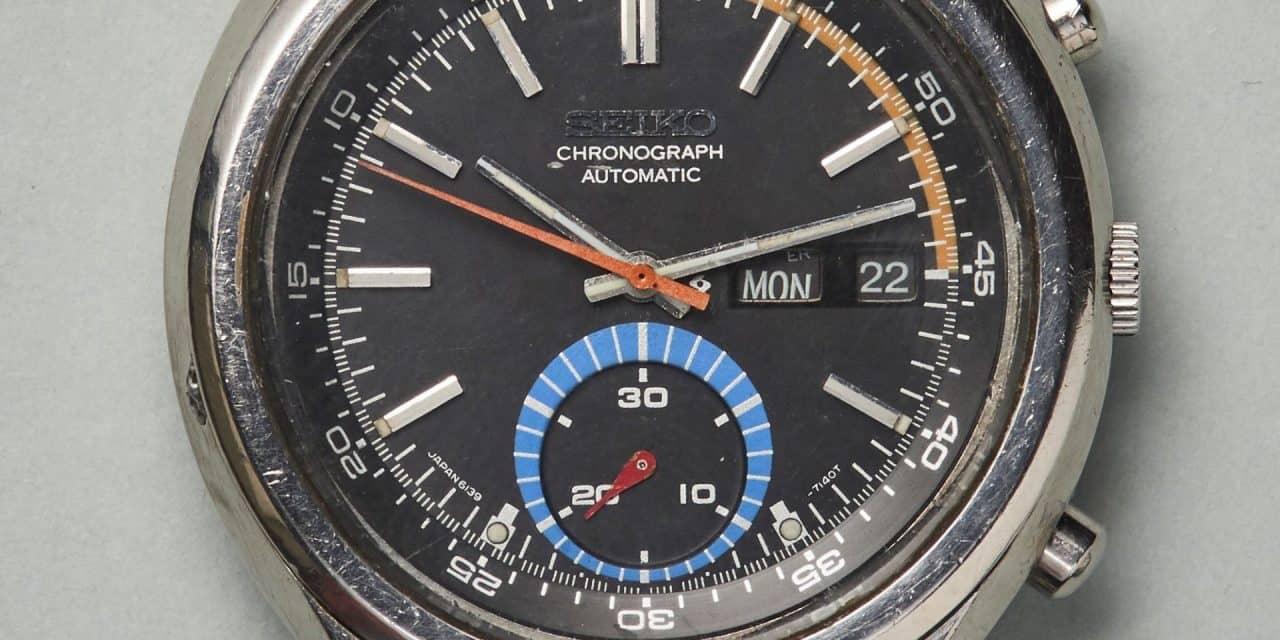 Vintage Seiko Chronograph Automatic: Der erste automatische Chronograph der Welt.