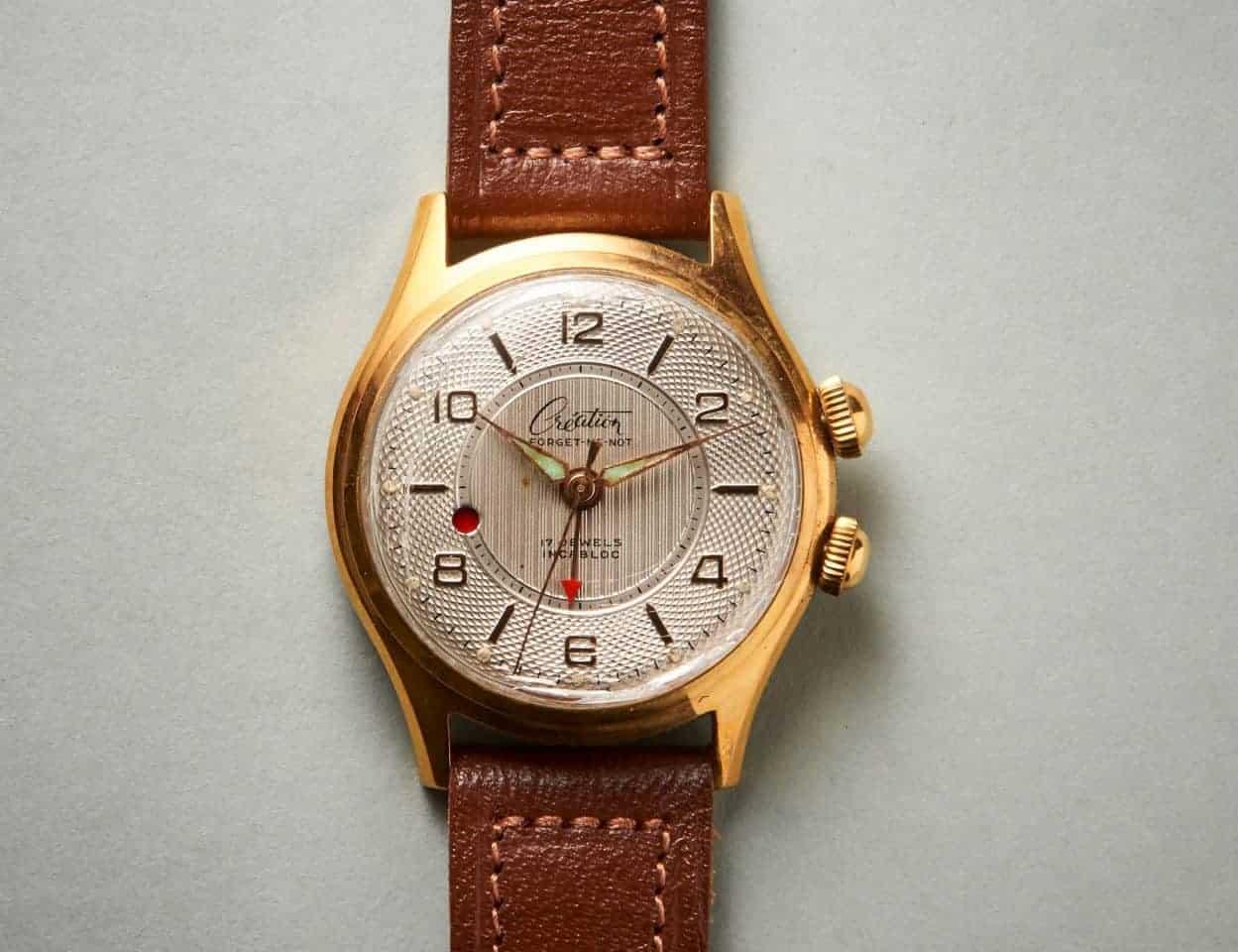 Diese Sammler-Armbanduhr von Création wird auch mal laut