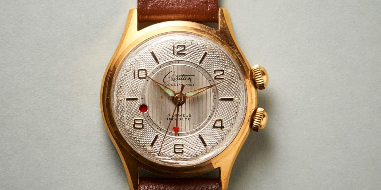 Der Création Watch Armbanduhr Wecker wird auch mal laut