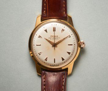 Springende Sekunde bei Quarzuhren und Mechanischen UhrenVintage Doxa Armbanduhr: Der springende Punkt