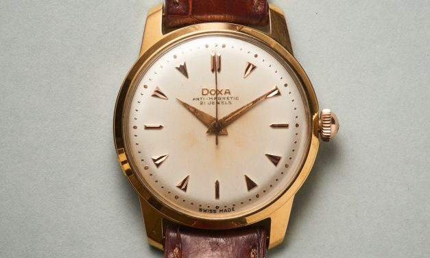 Vintage Doxa Armbanduhr: Der springende Punkt