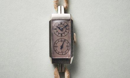 Diese Vintage-Armbanduhr geht sekundengenau. Muss sie auch.