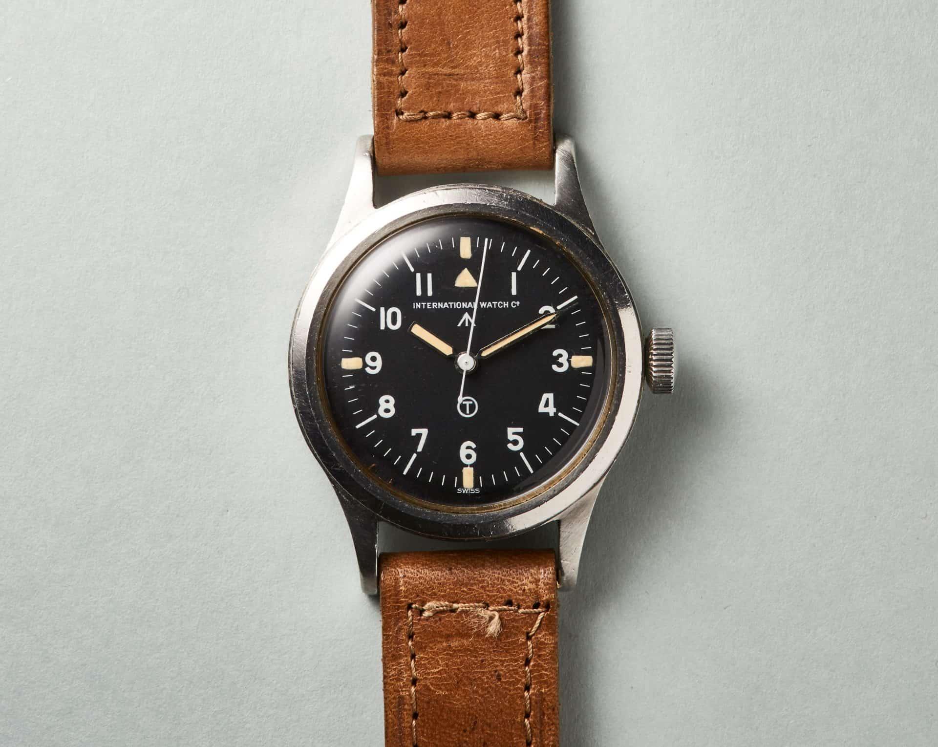 Eine legendäre Uhr und über Jahrzehnte im militärischen Dienst - die IWC Marc 11.