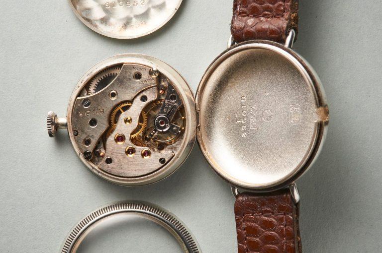 Werkansicht der Pikleur Vintageuhr