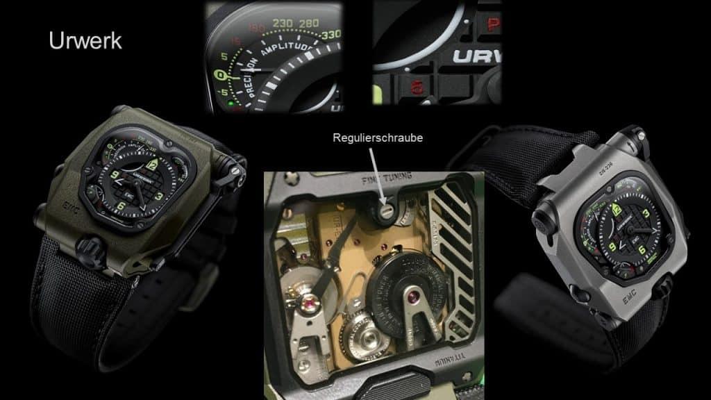 Rock'n Roll im Uhrenbau - Time Hunter von Urwerk