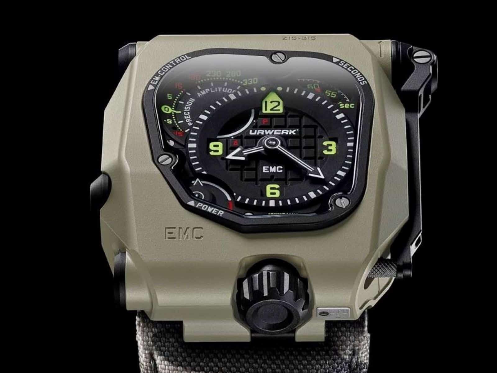 Urwerk EMC Time Hunter Manufaktur-Uhr
