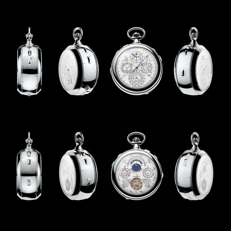 Die 360 Grad-Ansicht vermittelt ein harmonisches Bild des Uhrenkunstwerks Bilder Vacheron Constantin