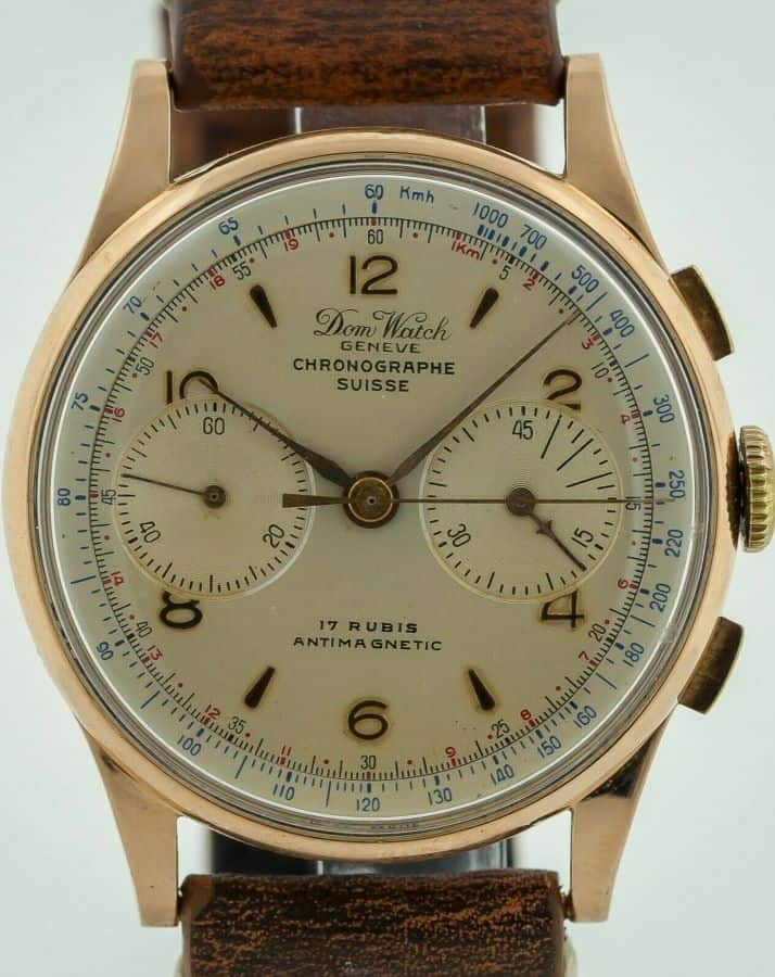 Vintage Dom Watch Chronograph