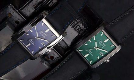 Die Herbert Grönemeyer Uhr: stahlhart.  Nur Grün oder blau?