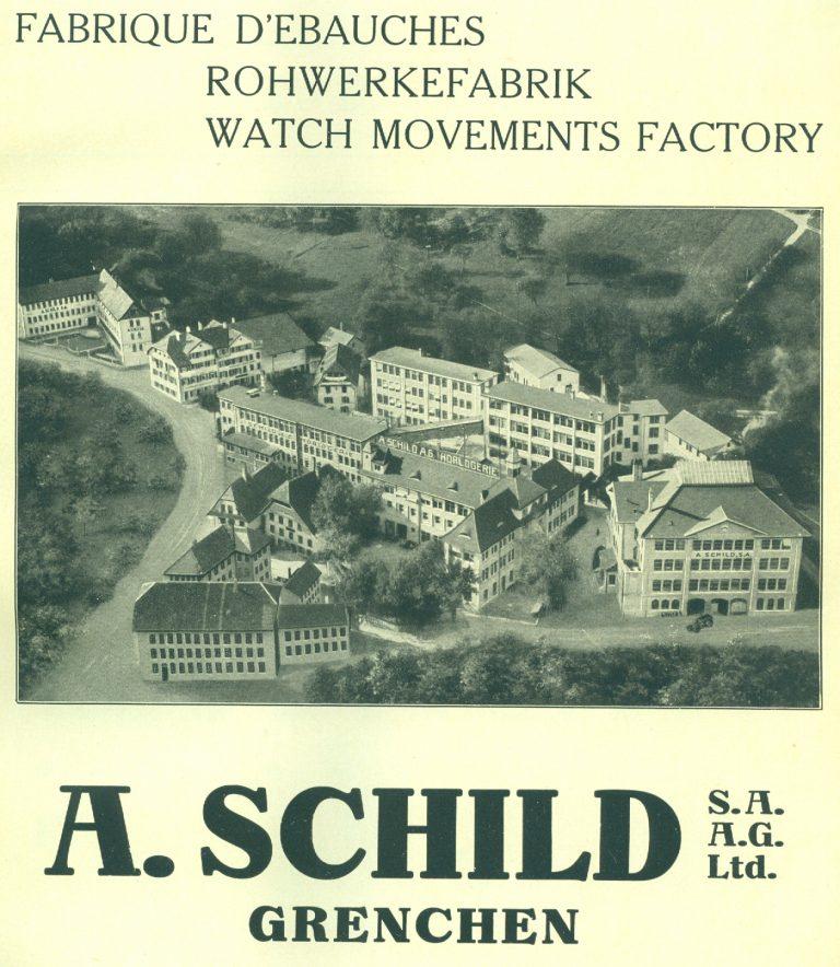 Rohwerkefabrik A.S. im Jahr 1925