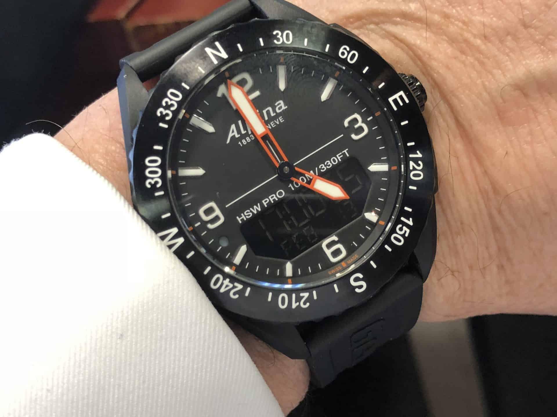 Die neue multifunkionale Armbanduhr für die Smartwatch-Szene: Alpiner X von AlpinaGestalte dir mit Alpina deine persönliche Smartwatch