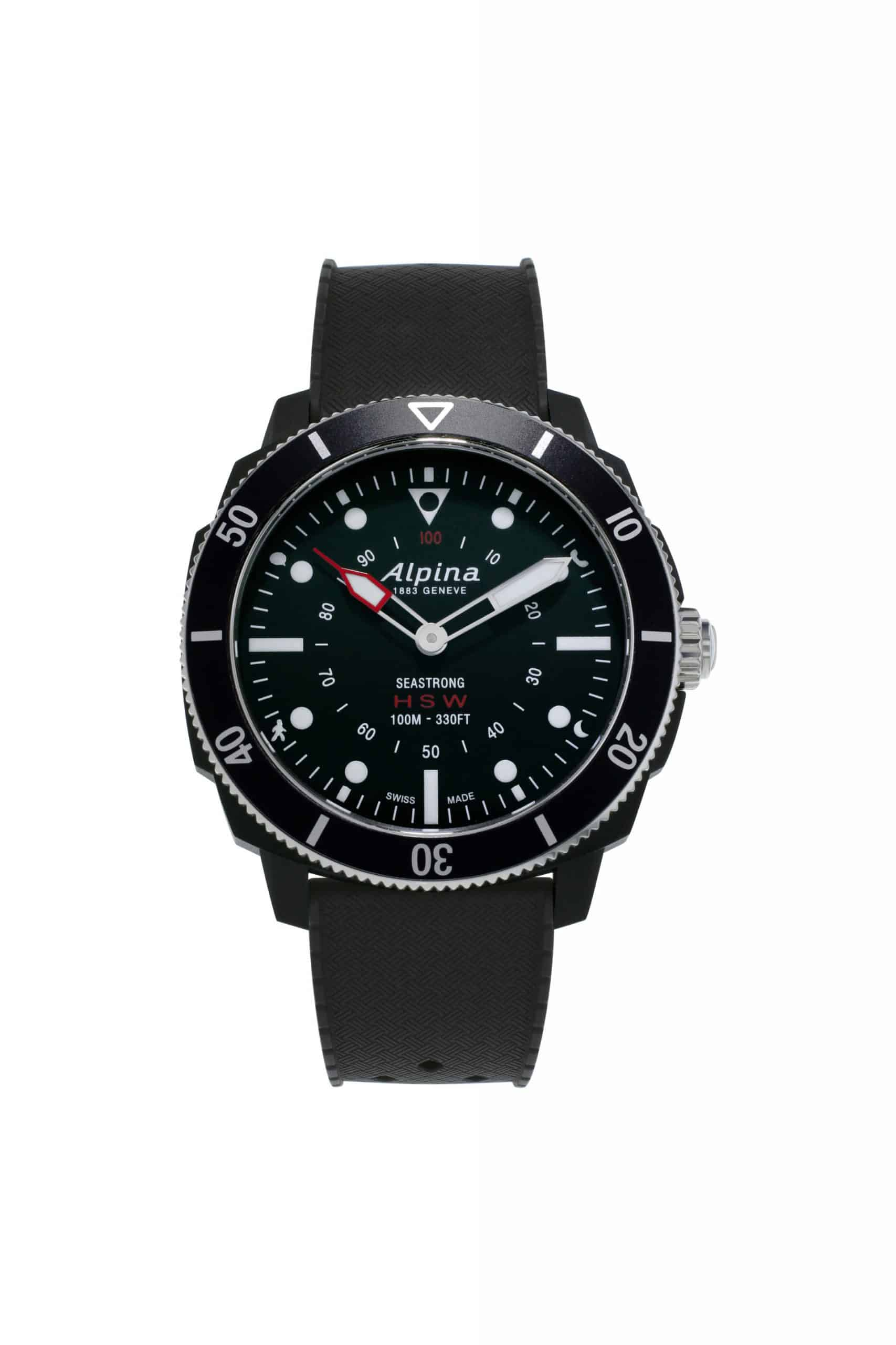 Alpina Seastrong Horological Smartwatch AL 282LBB4V6 scaled