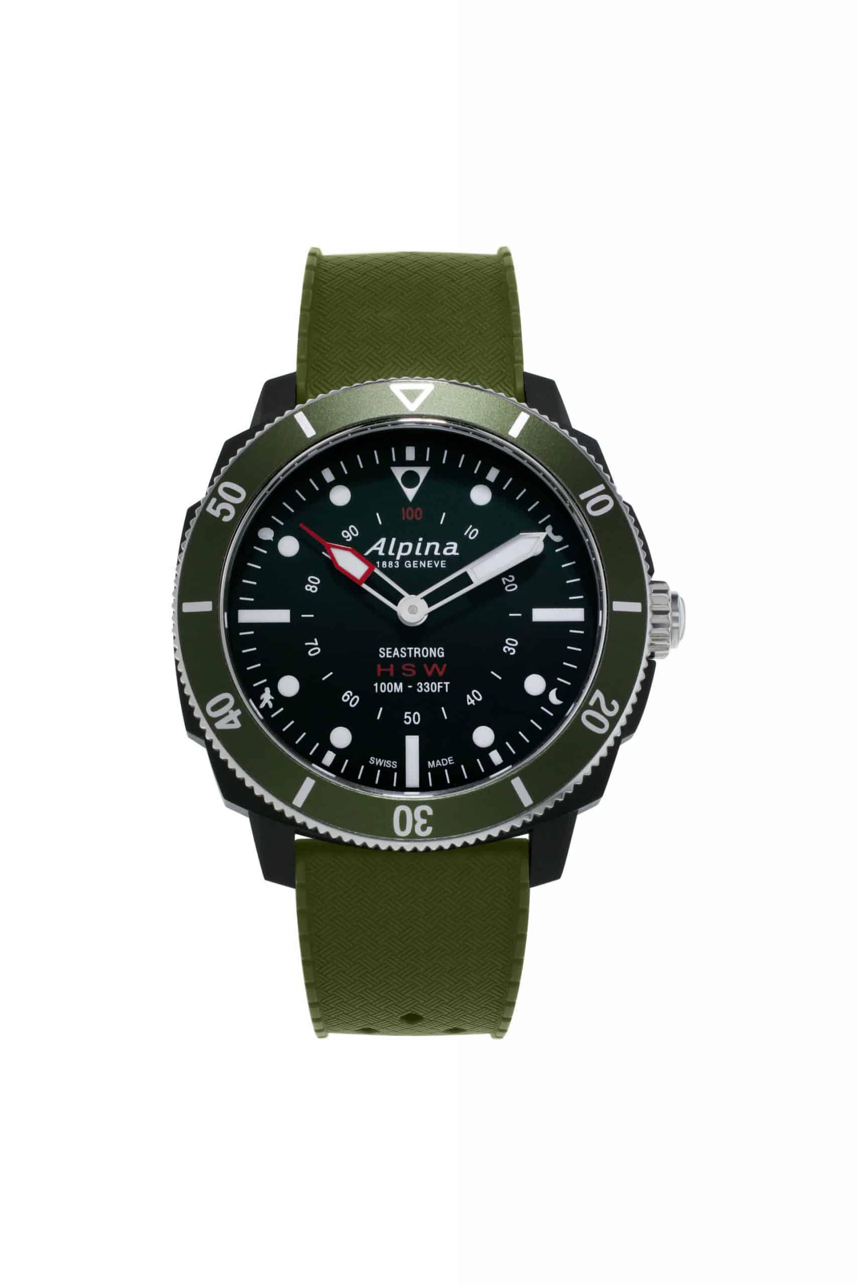 Alpina Seastrong Horological Smartwatch AL 282LBGR4V6 scaled
