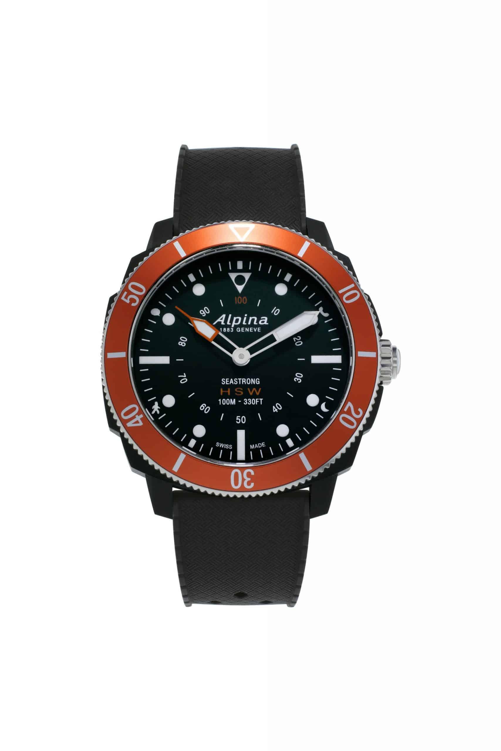 Alpina Seastrong Horological Smartwatch AL 282LBO4V6 scaled