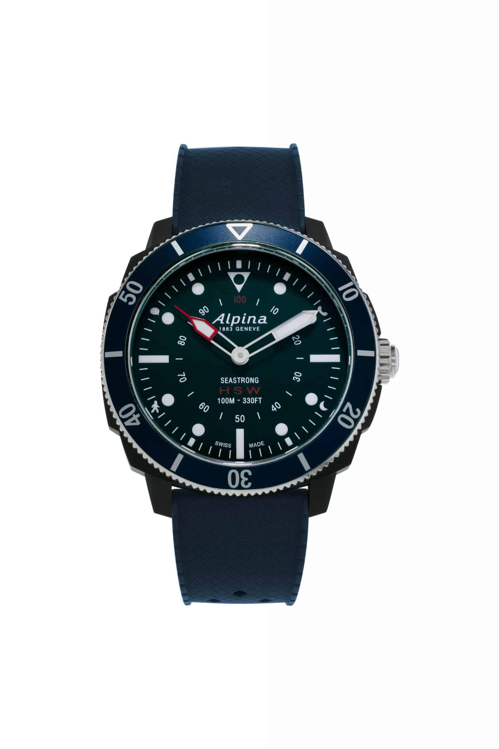 Alpina Seastrong Horological Smartwatch AL 282LNN4V6 scaled
