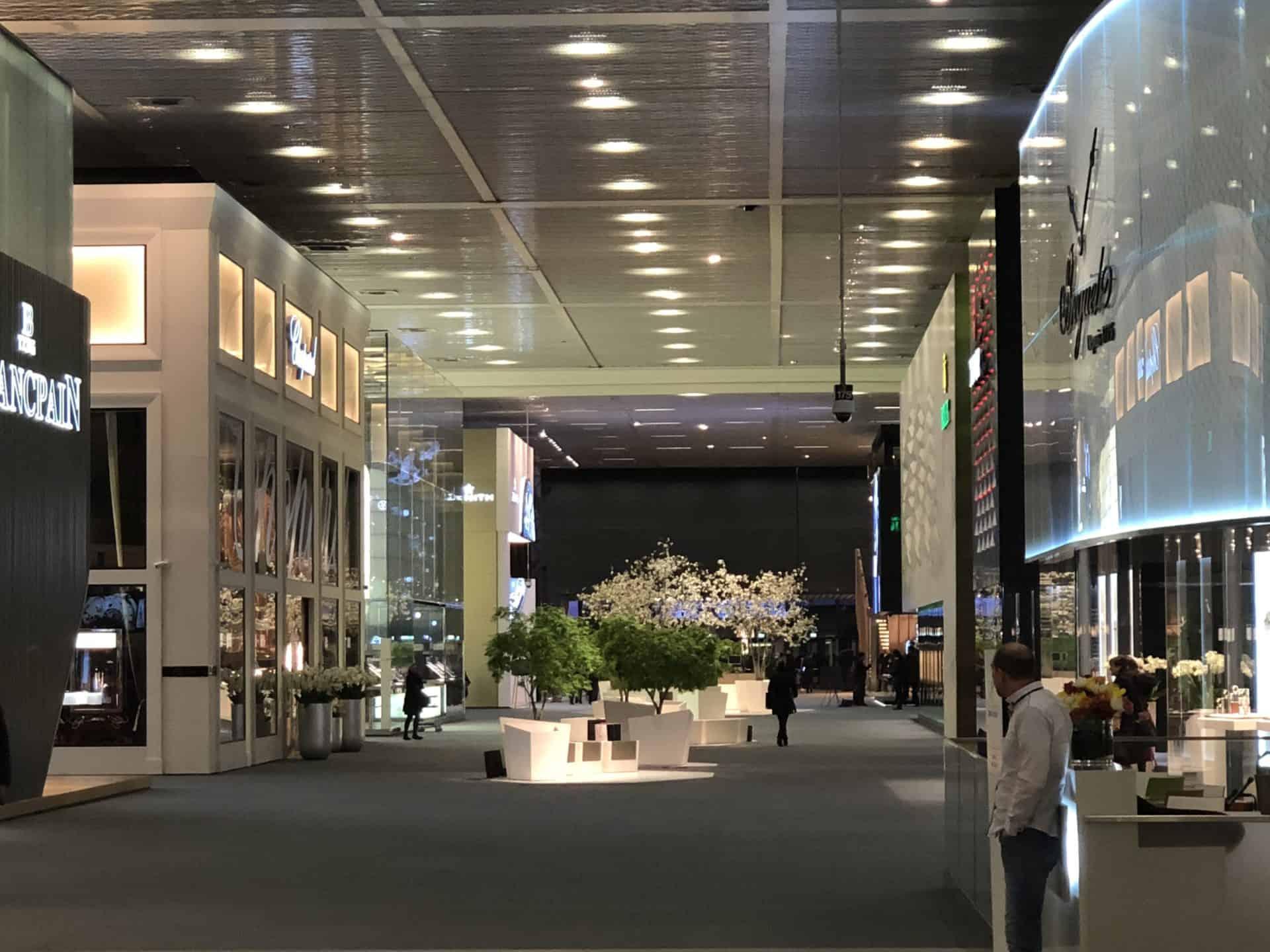 Baselworld Blancpain und Breguet waren 2018 bis auf weiteres letztmals dabei - Foto (C) Gisbert Brunner