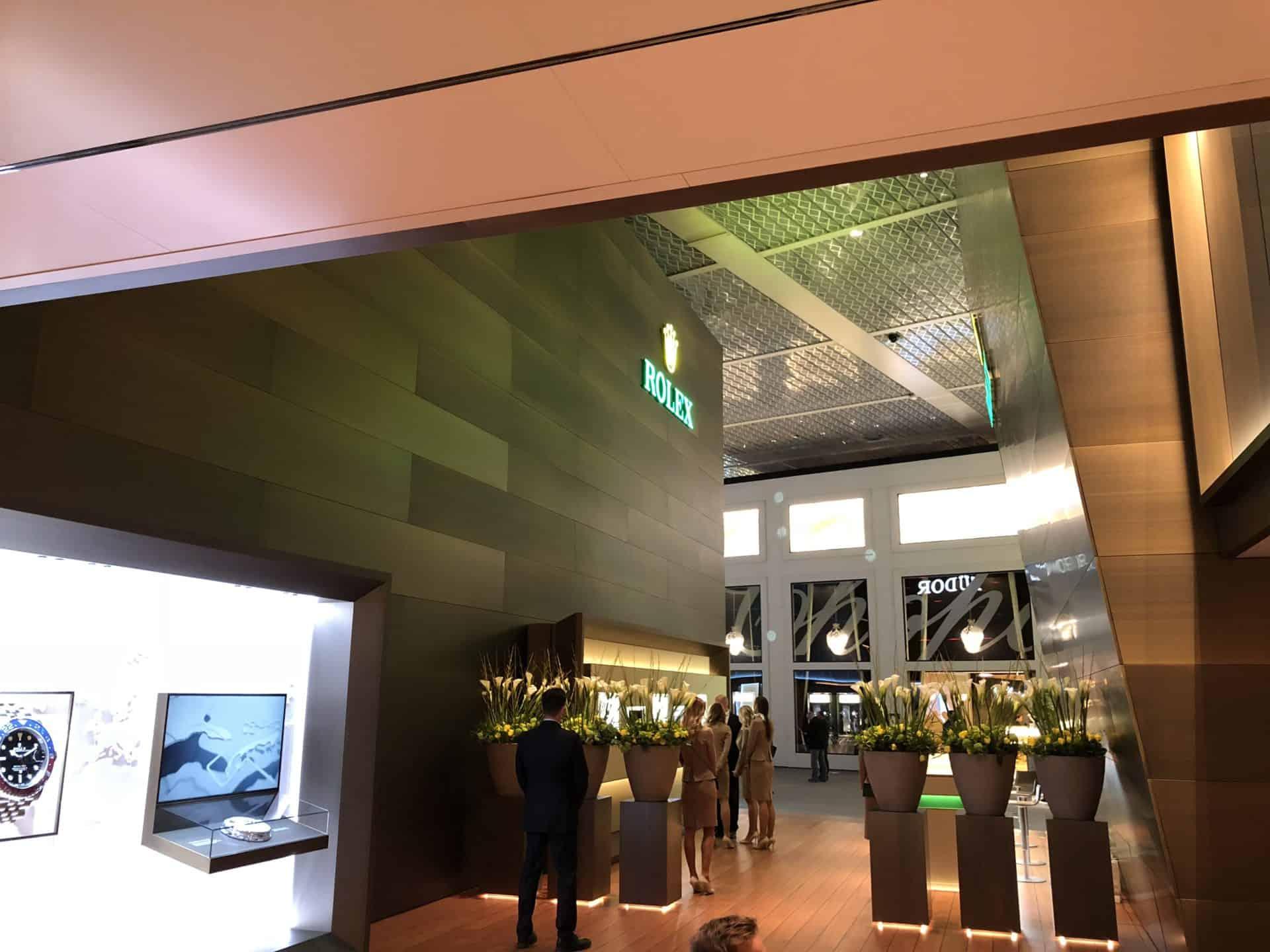 Baselworld - Rolex bleibt vorerst bei der Stange - Foto (C) Gisbert Brunner