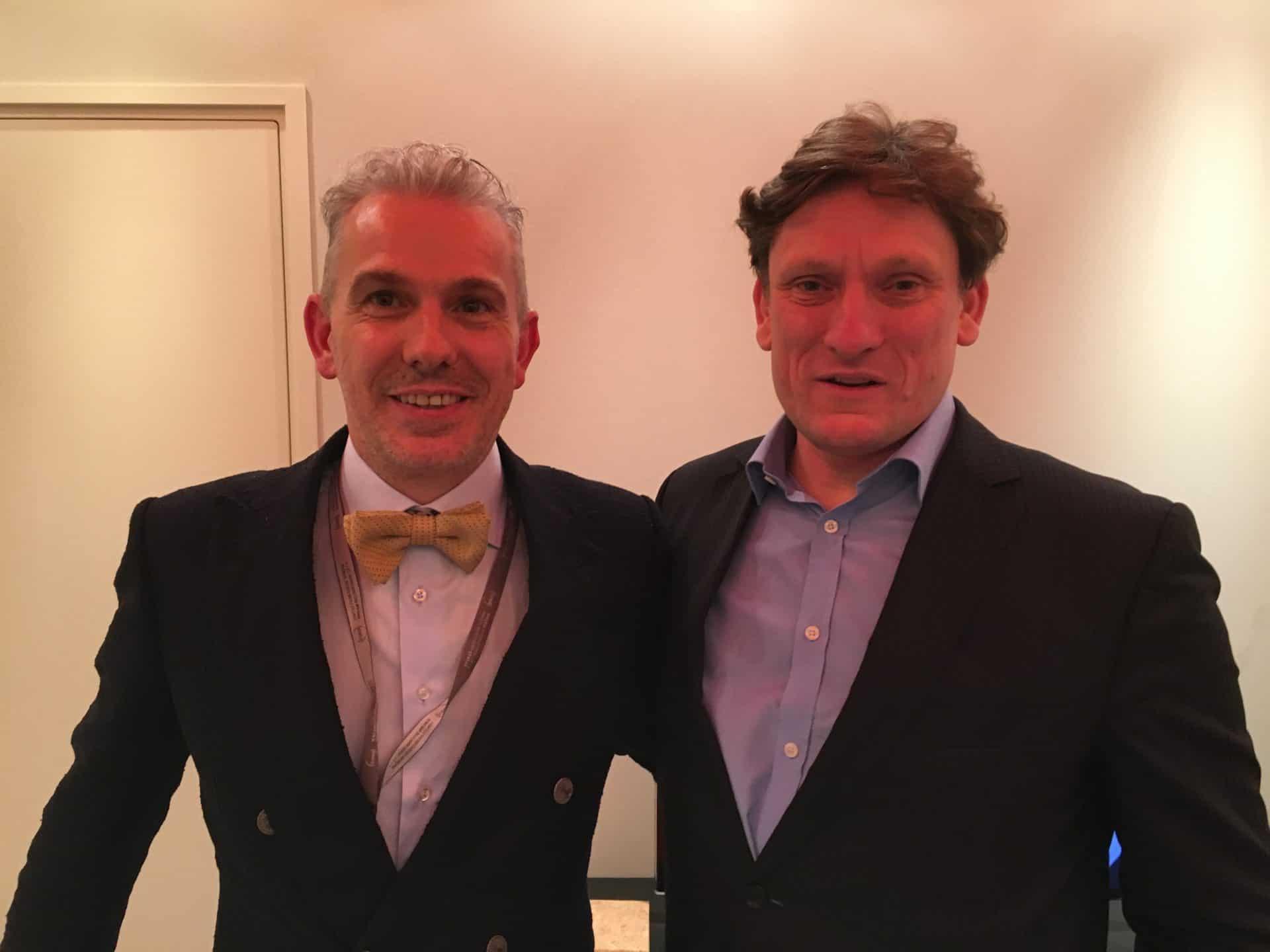 Ungewöhnliche Produkte brauchen Menschen, die stets vorwärts denken: Didier Cretin und Stephen Forsey