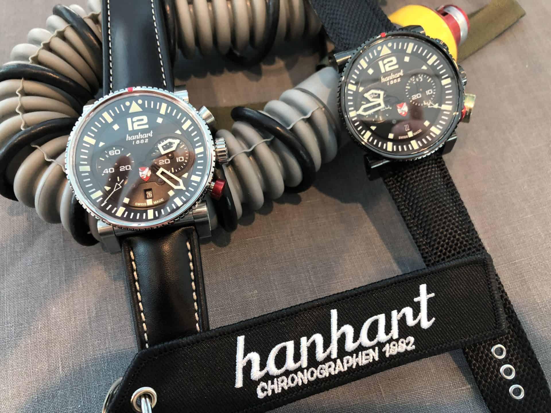 Hanhart und der neue Primus Chronographen für die Austrian Air ForceHanhart Primus Austrian Air Force Pilot: Up up and away