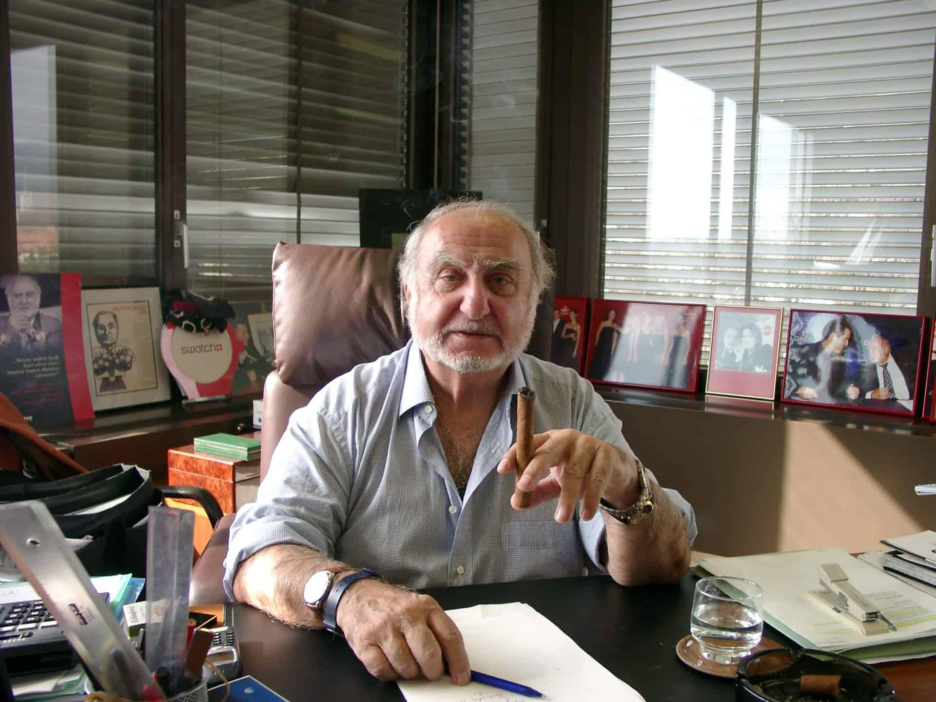 Nicolas G. Hayek verordnete das erste Fernbleiben - Foto (C) Gisbert Brunner
