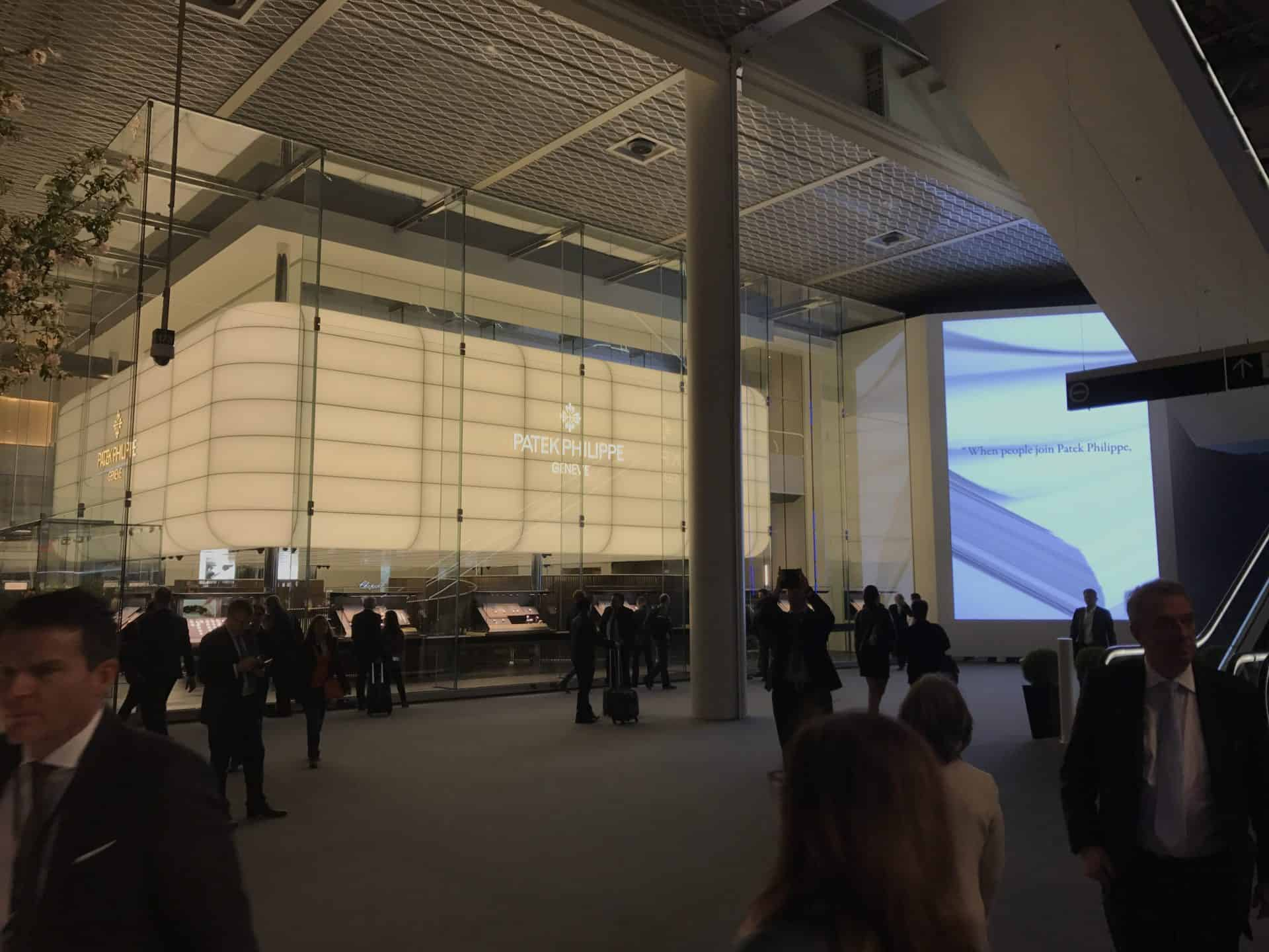 Glaspalast: der Baselworld-Messestand von Patek Philippe