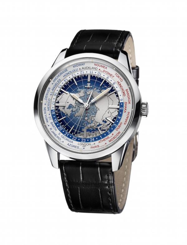 Universelle Zeitanzeige mit gleichzeitigem Reisen auf dem Zifferblatt - was will man mehr. Die Geophysic Chronometer Uhr von Jaeger-LeCoultre