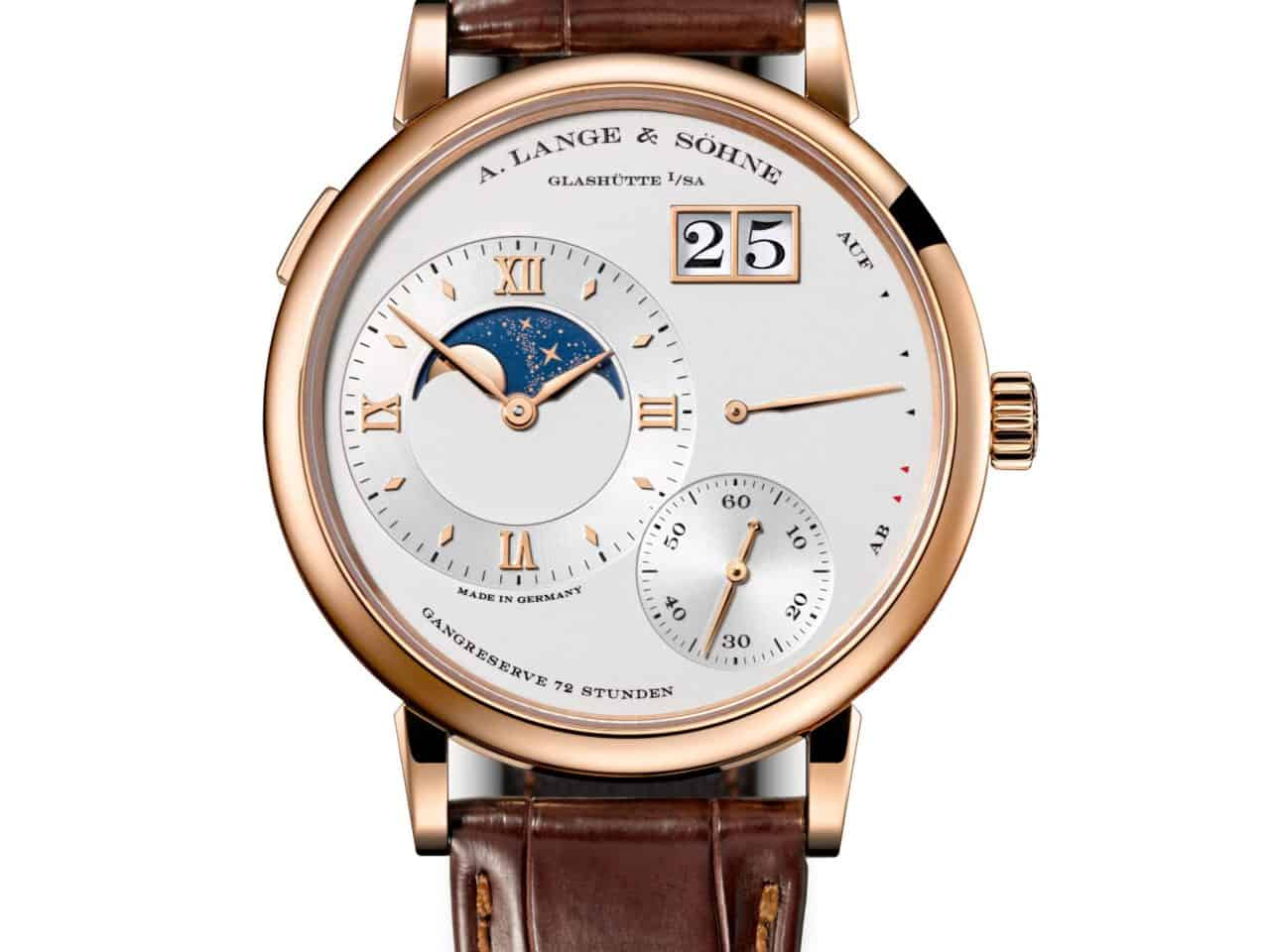 Uhren mit Mondphase von A. Lange & Söhne