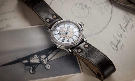 Ein Stundenwinkel für die Longines Heritage Charles Lindbergh