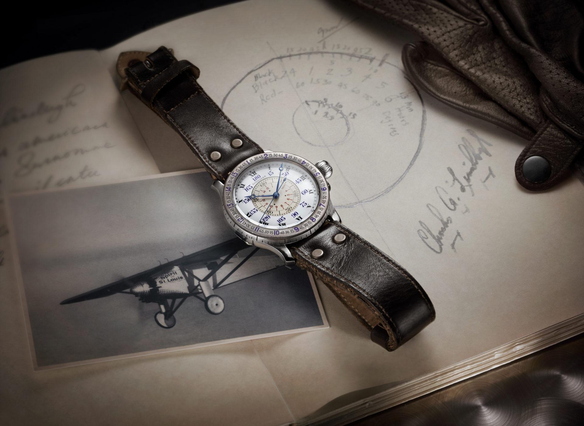 Die Pilotenuhr von Longines ist eine Hommage an Lindbergh. Zu seinen Zeiten entschieden Präzision und Zuverlässigkeit über Leben und Tod.