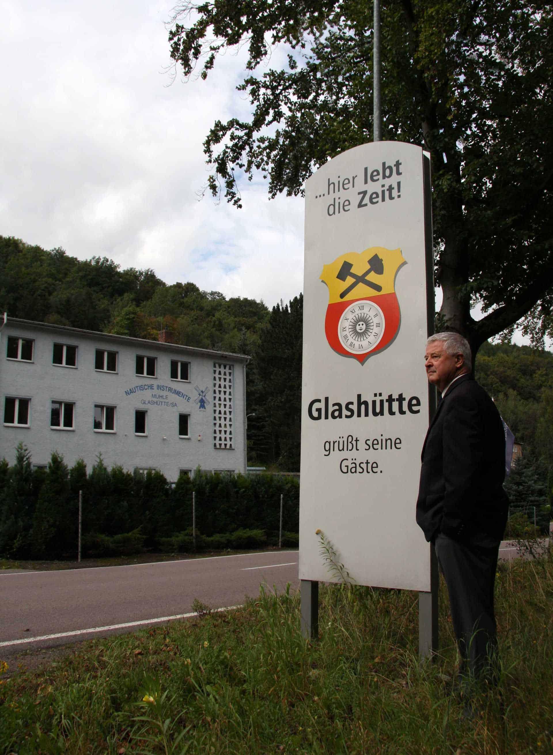 Mühle Glashütte mit Hans-Jürgen Mühle