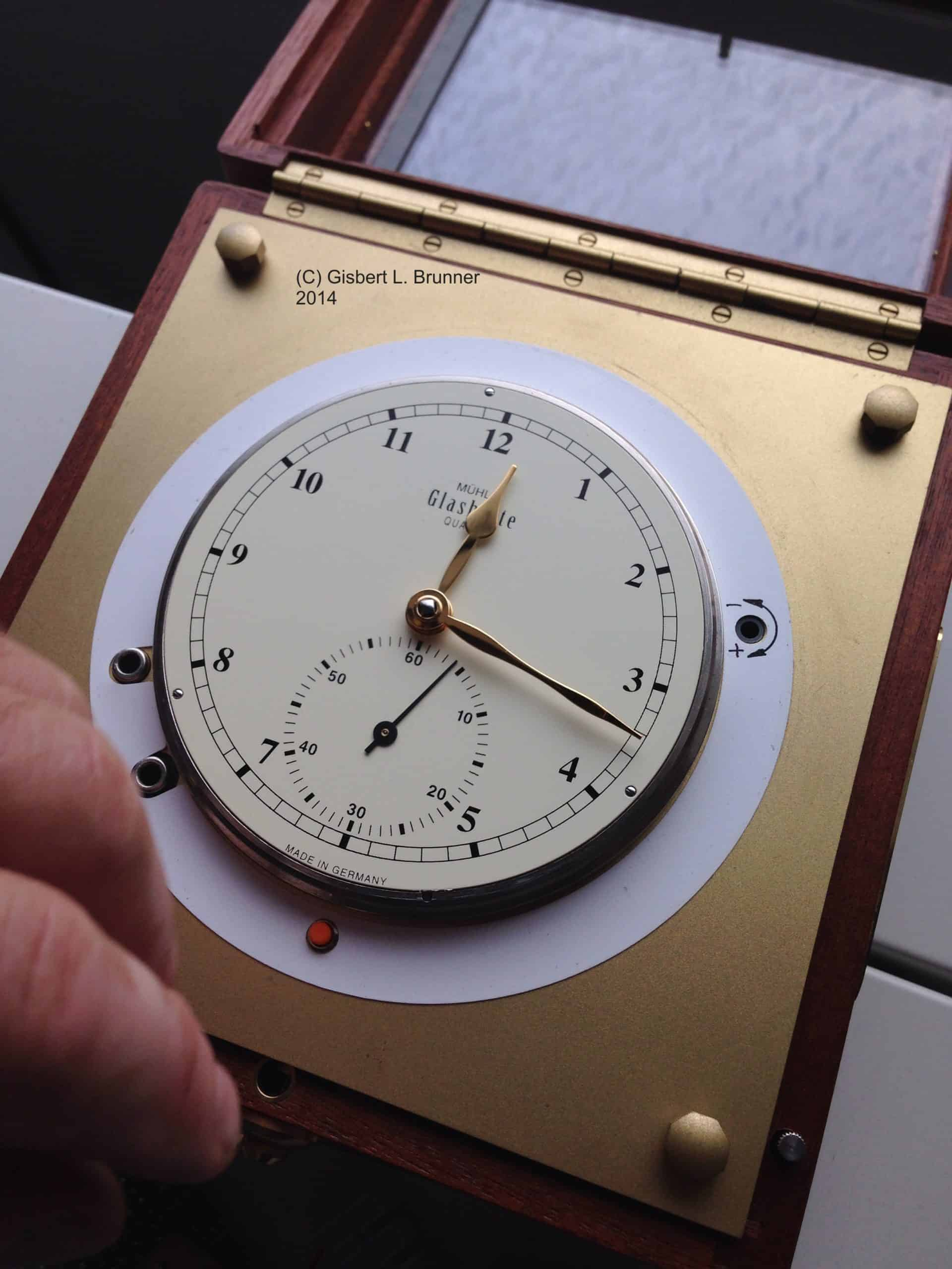 Mühle Marine-Chronometer mit Präzisions-Quarzwerk